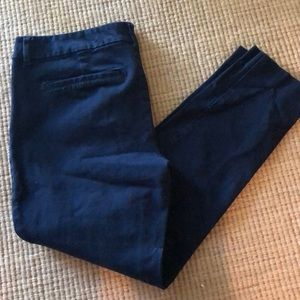Navy pants in excellent condition